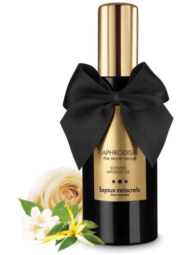 Erotické masážní oleje a emulze: Masážní olej Aphrodisia - ylang-ylang, růže a jasmín
