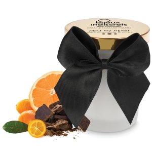 Masážní svíčka Melt My Heart - hořká čokoláda a citrus – Masážní svíčky