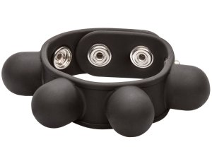 Natahovač varlat se závažím Weighted Ball Stretcher – Pomůcky na mučení penisu a varlat (CBT)