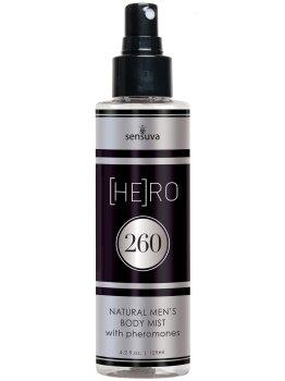 Tělová mlha s feromony pro muže (HE)RO 260 – Feromony a parfémy pro muže
