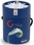 Nabíjecí minivibrátor na prst Gring OCEAN