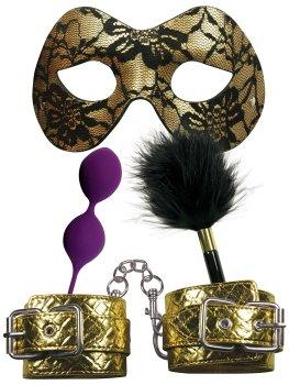 Sada erotických pomůcek Masquerade Party – Sady BDSM pomůcek