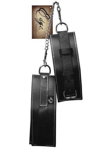 Pouta, lana a pásky na bondage (svazování): Kožená pouta na paže Edge