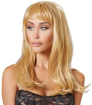 Paruka Yvette - dlouhá, blond – Paruky