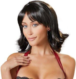 Paruky: Paruka Joanne - krátká, černá