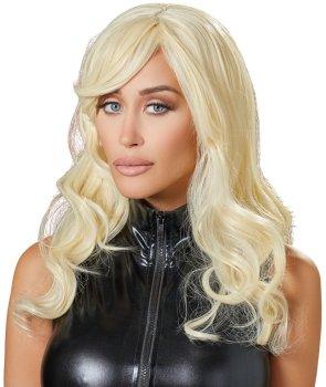 Paruka Britney - dlouhá, lehce vlnitá, blond – Paruky