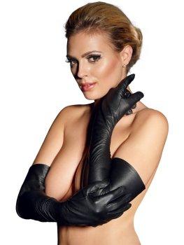 Dlouhé kožené rukavice – Sexy dámské kožené prádlo a oblečení