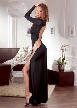 Úžasné dlouhé šaty s odhalenými zády a šněrováním – Sexy šaty a minišaty