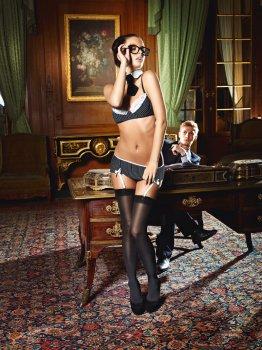 Dámské sexy kostýmy pro roleplay: Kostým Sekretářka - Baci Sexy Secretary