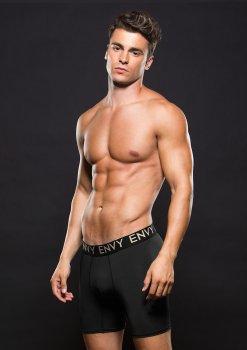 Sportovní boxerky s dlouhými nohavičkami – Pánské boxerky, jocksy, slipy a tanga