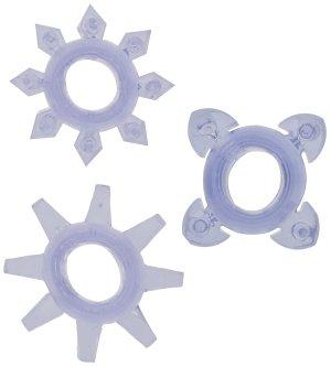 Erekční kroužky Tickle - se stimulačními výstupky – Nevibrační erekční kroužky