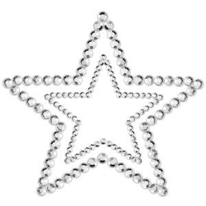 Samolepicí ozdoby na prsa MIMI Star – Samolepicí ozdoby na prsa a bradavky