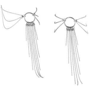 Ozdoba na kotníky Magnifique, stříbrná – Vzrušující intimní šperky, ozdoby a bižuterie