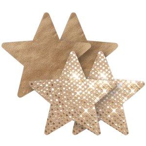 Samolepicí ozdoby na bradavky Nippies Superstar Star – Samolepicí ozdoby na prsa a bradavky