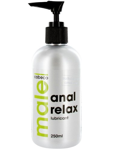 Lubrikační gely na vodní bázi: Anální lubrikační gel MALE ANAL RELAX