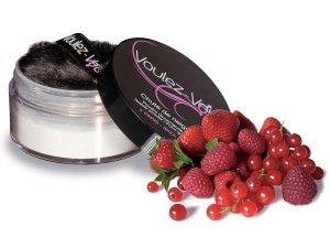 Luxusní jedlý tělový pudr Lady Snow Červené ovoce – Tělové pudry