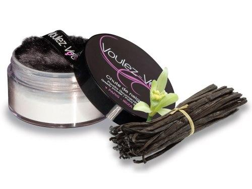 Tělové pudry: Luxusní jedlý tělový pudr Lady Snow Vanilka