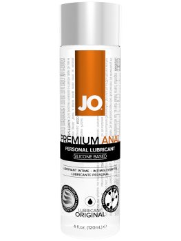Anální lubrikační gel System JO Premium ANAL - silikonový – Lubrikační gely na anální sex