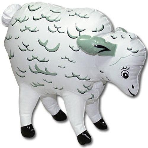 Nafukovací zvířata, ovce, krávy: Nafukovací mini-ovečka Storming Stella