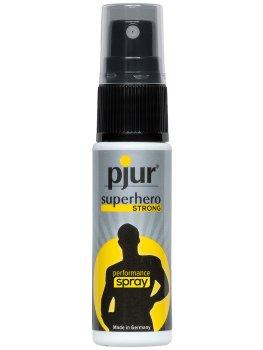 Sprej na oddálení ejakulace Pjur Superhero STRONG – Připravky a pomůcky proti předčasné ejakulaci