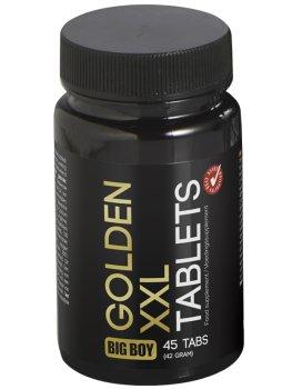 Tablety pro větší penis a více mužnosti BIG BOY Golden XXL – Pomůcky a přípravky na zvětšení penisu
