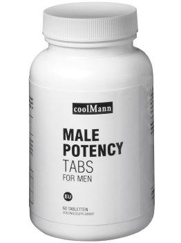 MALE POTENCY TABS - pro intimní, psychické i fyzické zdraví mužů – Přípravky na zvýšení mužského libida
