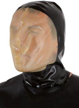 Latexová vakuová maska s malým dýchacím otvorem – Erotické pomůcky z latexu