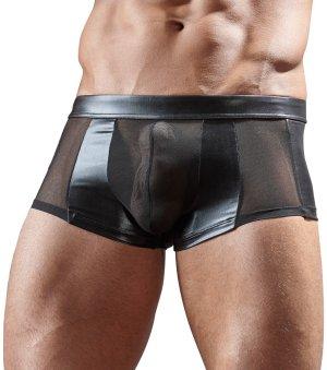 Průsvitné boxerky s lesklými vsadkami Svenjoyment – Pánské boxerky, jocksy, slipy a tanga