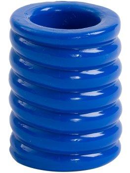 Erekční kroužek Titanmen Cock Cage Blue – Nevibrační erekční kroužky