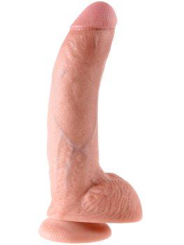 """Realistické dildo s varlaty King Cock 9"""" – Realistická dilda"""
