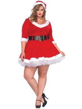 Luxusní kostým Mrs. Claus –