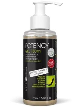 Lubrikační gel pro silnější erekci POTENCY – Lubrikační gely s hřejivým účinkem (prokrvující)