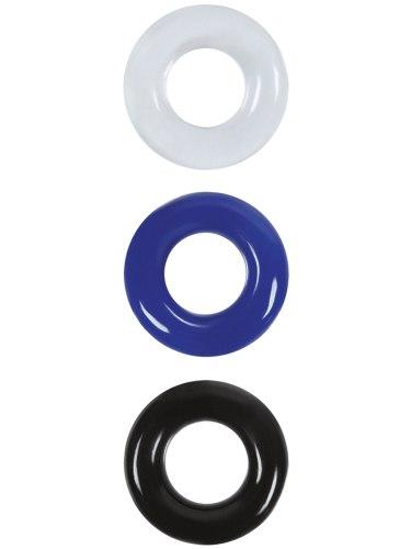 Nevibrační erekční kroužky: Sada erekčních kroužků Renegade