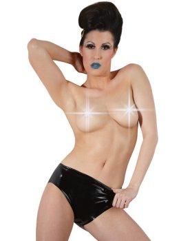 Latexové kalhotky s vnitřním vaginálním dildem – Latexové prádlo a oblečení pro ženy