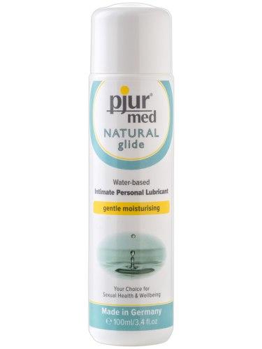 Lubrikační gely na vodní bázi: Lubrikační gel Pjur Med Natural