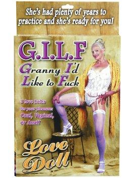 Nafukovací babička GILF – Nafukovací panny pro sex i zábavu