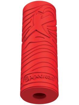 Masturbátor pro muže EZ Grip Stroker - červený – Masturbátory bez vibrací (honítka) - pro muže