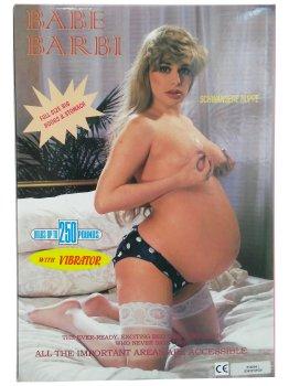 Těhotná nafukovací panna Babe Barbi – Nafukovací panny pro sex i zábavu