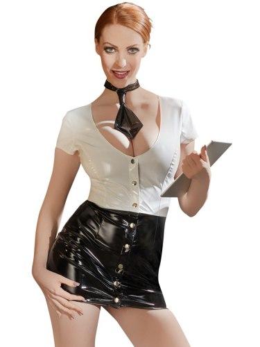 Lakovaný kostým Sekretářka