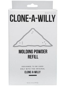 Náhradní 3D gel (modelovací prášek) pro Clone-A-Willy – Odlitky penisu a vaginy