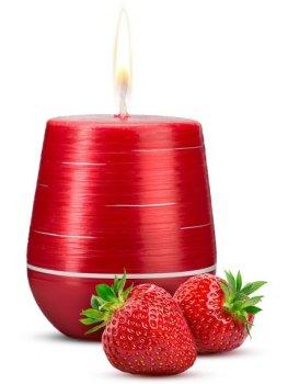 Afrodiziakální vonná svíčka Sweet Strawberries – Difuzéry, bytové parfémy a vůně s afrodiziaky