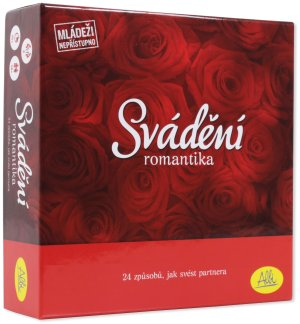 Erotická hra SVÁDĚNÍ Romantika – Erotické společenské hry