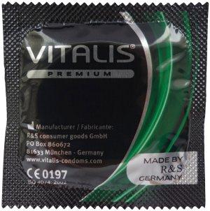 Kondom Vitalis Apple - jablko – Kondomy s příchutí