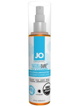 BIO Čisticí sprej na erotické pomůcky Organic NaturaLove, 120 ml – Dezinfekce, čištění a údržba pomůcek