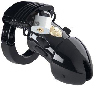 Pás cudnosti pro muže Pubic Enemy No 1 Black Edition (elektrosex) – Pásy cudnosti pro muže (elektrosex)