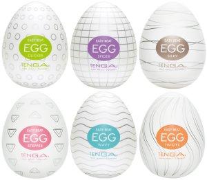 Výhodné balení masturbátorů TENGA Egg, 6 ks – Masturbátory TENGA