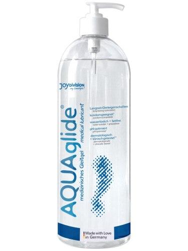 Lubrikační gely na vodní bázi: Univerzální vodní lubrikační gel AQUAglide, 1 l