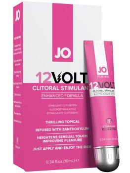 Stimulační gel na klitoris System JO 12Volt – Stimulující krémy a gely pro lepší sex