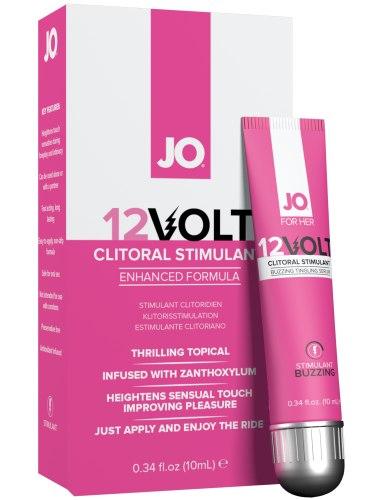 Stimulační gel na klitoris System JO 12Volt