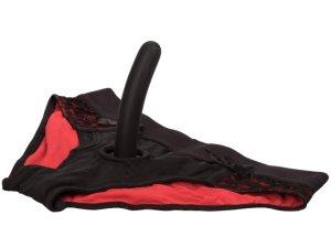 SCANDAL kalhotky/univerzální harnes + dildo – Strapony s postrojem